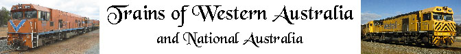 Trains of Western and National Australia